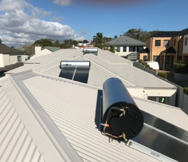 Eurosun Solar Panels installed on roofs in Perth